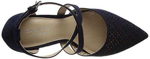 Kross 2 col Blu Scarpe Tacco Carvela Navy Donna vwq8RpRxd