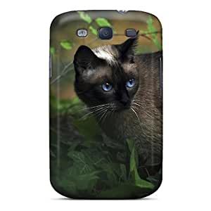 Ultra Slim Fit Hard Cynthaskey Case Cover Specially Made For Galaxy S3- Backyard Stroll