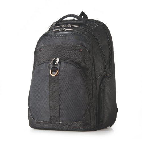 Everki Atlas Checkpoint Friendly 13-Inch to 17.3-Inch Laptop Backpack Adaptable Compartment (EKP121) by Everki