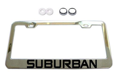 suburban license plate frame - 5