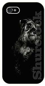 iPhone 5C Black dog - black plastic case / dog, animals, dogs
