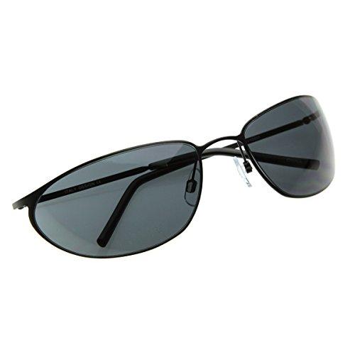 de9bd434371 ZeroUV Matrix Neo Metal Wire Frame Glasses Movie Inspired Sunglasses  (ZV-1206d