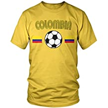 Amdesco Men's Colombia Soccer, Colombian Football T-shirt
