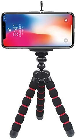 D&F Soporte para trípode mini, soporte para teléfono móvil ...