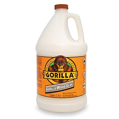 Gorilla 6231501 Gallon Glue, Natural Wood Color (The Best Wood Glue)