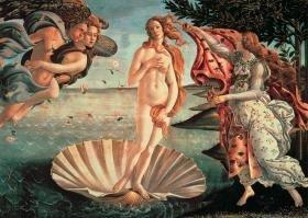 Tomax The Birth of Venus 1000 Piece Sandro Botticelli Mini Jigsaw Puzzle