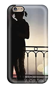 6 Scratch-proof Protection Case Cover For Iphone/ Hot Couple Romantic Hug Phone Case