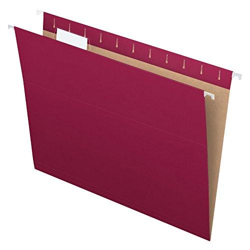 Pendaflex PFX81613 Recycled Hanging Folders, Letter
