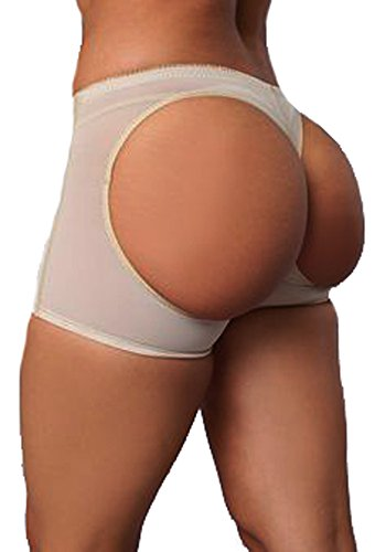 DODOING 3-5 Days Delivery Women Shapewear Butt Lifter Boyshort Hip Enhancer Tummy Control Panties