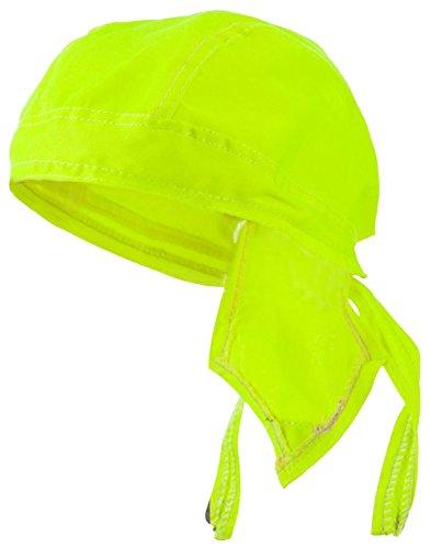Doo Rag Du Rag Do Hi-Visibility Yellow Safety Bandana Head Wrap Chemo Cap (Safety Bandana)