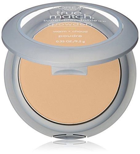 L'Oréal Paris True Match Super-Blendable Powder, Sun Beige, 0.33 oz.