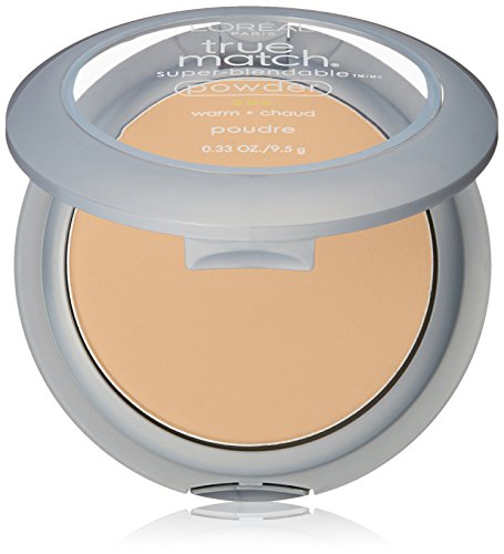 L'Oréal Paris True Match Super-Blendable Powder, Sun Beige, 0.33 oz.