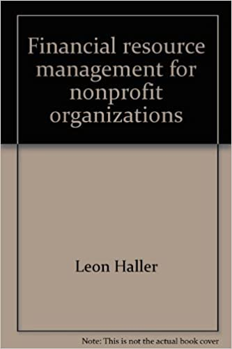 Financial resource management for nonprofit organizations