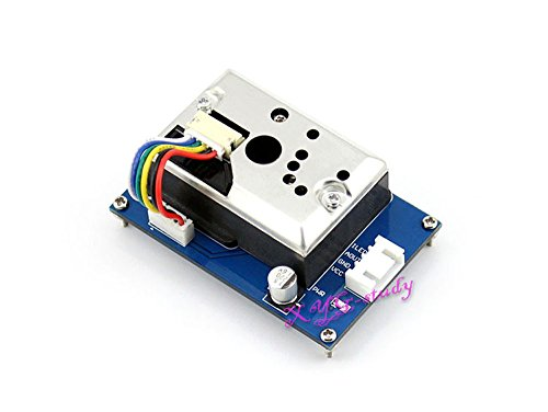 Price comparison product image Dust Sensor Sharp GP2Y1010AU0F onboard simple cigarette smoke density Air Monitor Module @XYGStudy
