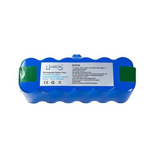Hannets® Batterie xlife pour iRobot Roomba 500, 600, 700, 800 séries et Scooba model 450
