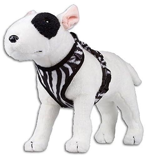doxtasy T de Harness arnés del perro Malla Zebra Negro/Blanco ...