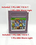 116 in 1 Game Boy COLOR GBC Multi Cart Tons of