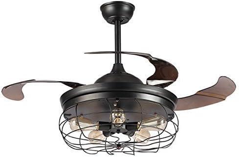 Parrot Uncle Industrial ventiladores de techo con 5 luces de ...