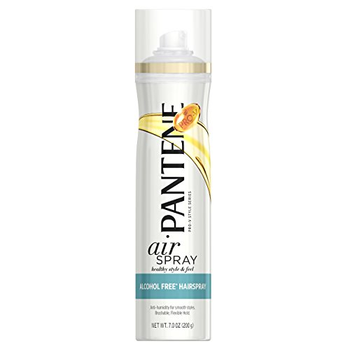 PANTENE PRO-V AIR SPRAY ALCOHOL FREE HAIR SPRAY 7OZ ANTI HUM