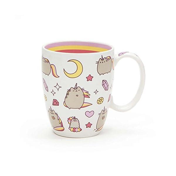 "Pusheen by Our Name is Mud ""Magical Pusheenicorn"" Stoneware Coffee Mug, 12 oz. 3"