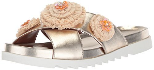 Image of Nine West Women's FEELTHELUV Synthetic Slide Sandal