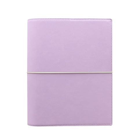 Filofax Domino Soft Orchid A5 Organiser