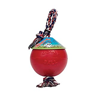 "Romp-N-Roll Ball Size: 14"" H x 6"" W x 6"" D, Color: Red"