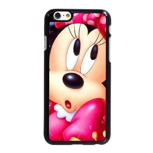 H4O44 Disney Mickey Mouse Minnie Mouse G6J4CE coque iPhone 6 4.7 pouces cas de couverture de téléphone portable de coque DK5RDK9TS noirs