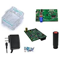 DVMEGA D-STAR, DMR, System Fusion Mobile Hotspot Bundle with the BlueStack MicroPlus, Clear Plexiglass Case, SMA Antenna, Power Supply, and HAM Guides Quick Reference Card