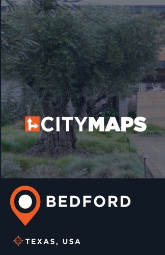 City Maps Bedford Texas, USA