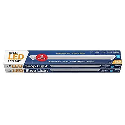 Feit 4' Linkable LED Shop Light 2-pack