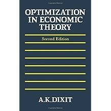 Optimization in Economic Theory