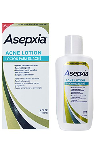 asepxia acne astringent lotion salicylic acid for pimples blackheads clogged pores 4 oz. Black Bedroom Furniture Sets. Home Design Ideas