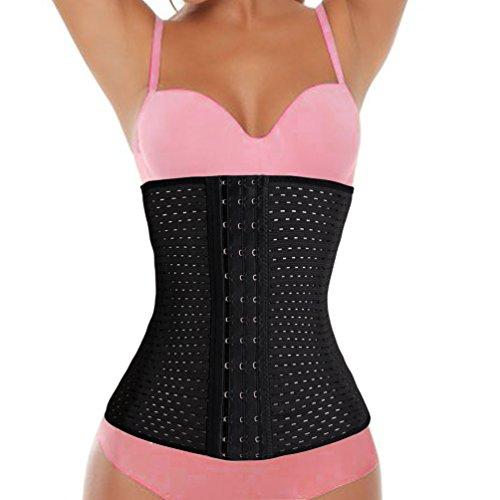 SEXYWG Women Workout Waist Cincher Trainer Slimming Belt Nipper Shaper Sport Girdle