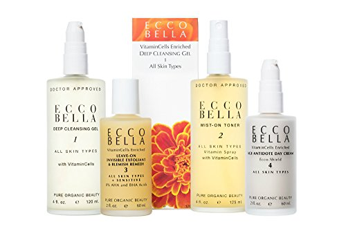 Ecco Bella Deep Cleansing Gel w/ Soy Protein ,4oz (Packaging may vary)