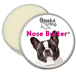 The Blissful Dog Pied French Bulldog Nose Butter - Dog Nose Butter, 8 Ounce