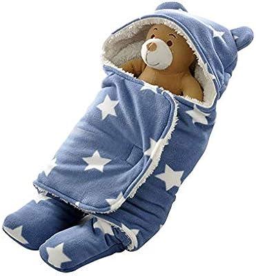 Miyanuby Saco de Dormir para Bebés, Suave y Cálido Franela de ...