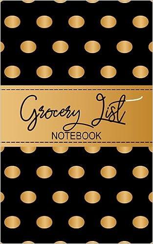 grocery list notebook food budget tracker dartan creations