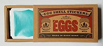 Egg Shell Stickers Donut