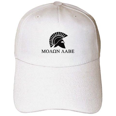 Molon Labe, µ???? ?aß?, Come and take it - Adult Baseball Cap