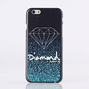 QHY Diamond Pattern Plastic Hard Cover for iPhone 6