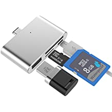 SUPVIN USB 3.1 Type C OTG HUB Adapter Card Reader for SD/ TF Micro SD for PC Laptop Macbook and Android Cellphones...