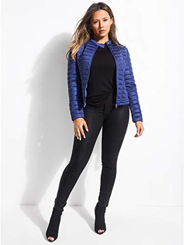 W83l15 jacket Unifor Jeans k7eu0 Guess vona Donna Blue Giubbotto 5w7OqHq
