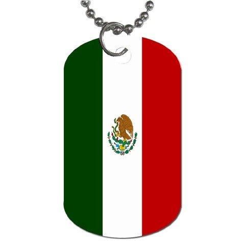 Mexico Flag Dog Tag