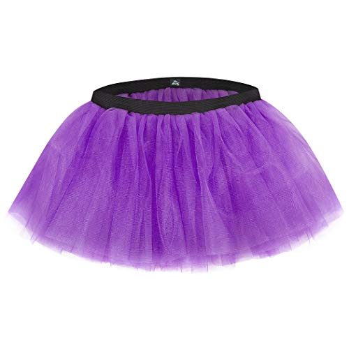 (Gone For a Run Runners Tutu Lightweight | One Size Fits Most | Neon Purple)