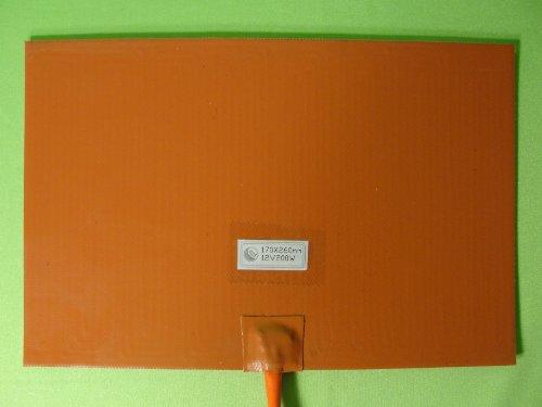 New 200 Watt 12 Volt V Silicone Pad Tank heater for waste veggie vegetable oil WVO Biodiesel Diesel -