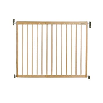 Lindam Extending Wooden Stair Gate Amazon Co Uk Baby