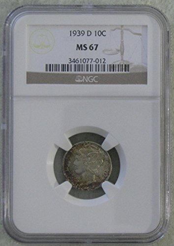 1939 Liberty Head Dime MS67 NGC
