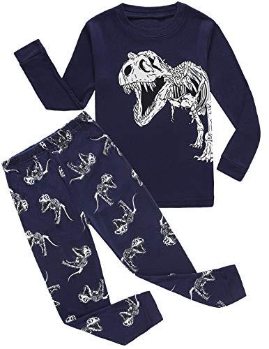 Dolphin&Fish Boys Pajamas Dinosaur Kids Pjs Cotton Toddler Clothes Children Sleepwear Size 10t by Dolphin&Fish