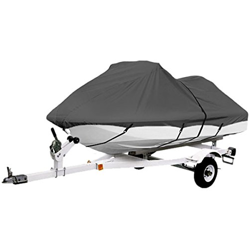 Seat Seat Moto Cover (Gray Trailerable PWC Personal Watercraft Cover Covers Fits 2-3 Seat Or 127